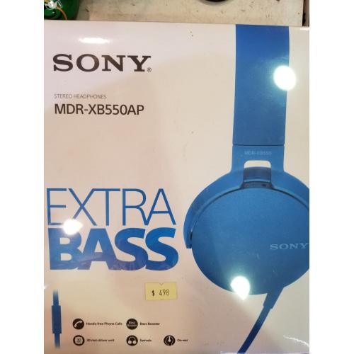 SONY MDR-XB550AP 耳機