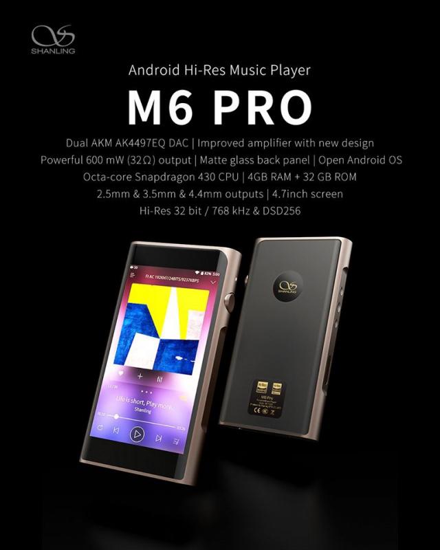 Shanling M6 Pro (Titanium)