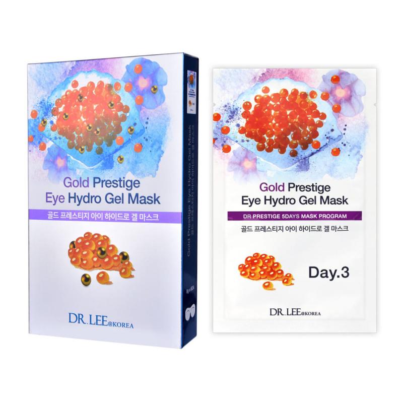 (買1送1) DR.LEE@Korea 黃金水凝膠生物纖維眼膜盒裝 (8克 x 6塊)