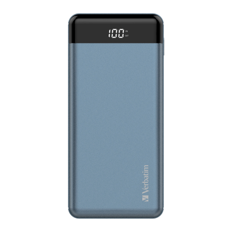 Verbatim 20000mAh 66W PD+QC 3.0 流動充電池