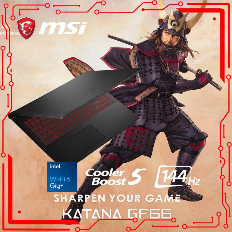 "MSI GF66 Katana 11UE 15.6""龍魂武士電競筆電11th ( i7-11800H / RTX3060 / 144Hz )[電腦節狂歡]"