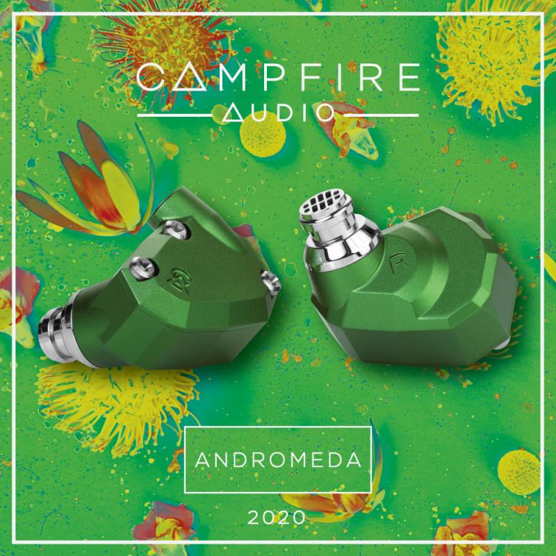 Campfire Audio Andromeda 仙女座五單元入耳式耳機 2020