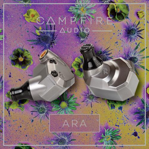 Campfire Audio ARA 7動鐵 鈦金屬耳機