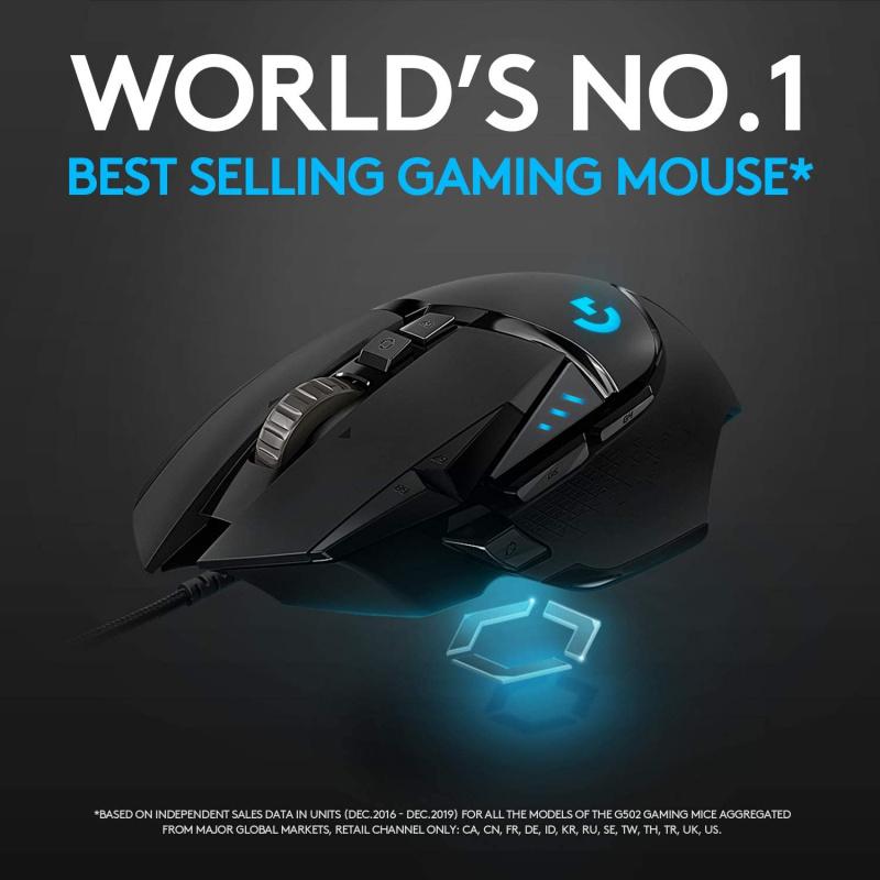 Logitech G502 HERO 高效能遊戲滑鼠