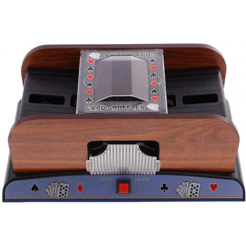 Bennlife賓尼生活 木製全自動撲克牌洗牌機