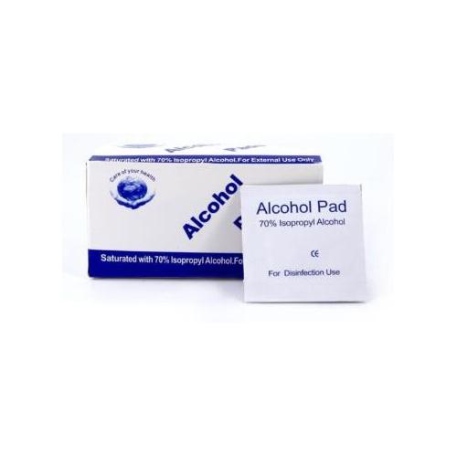 Aisuru 盒裝70%酒精消毒濕紙巾 [100片]