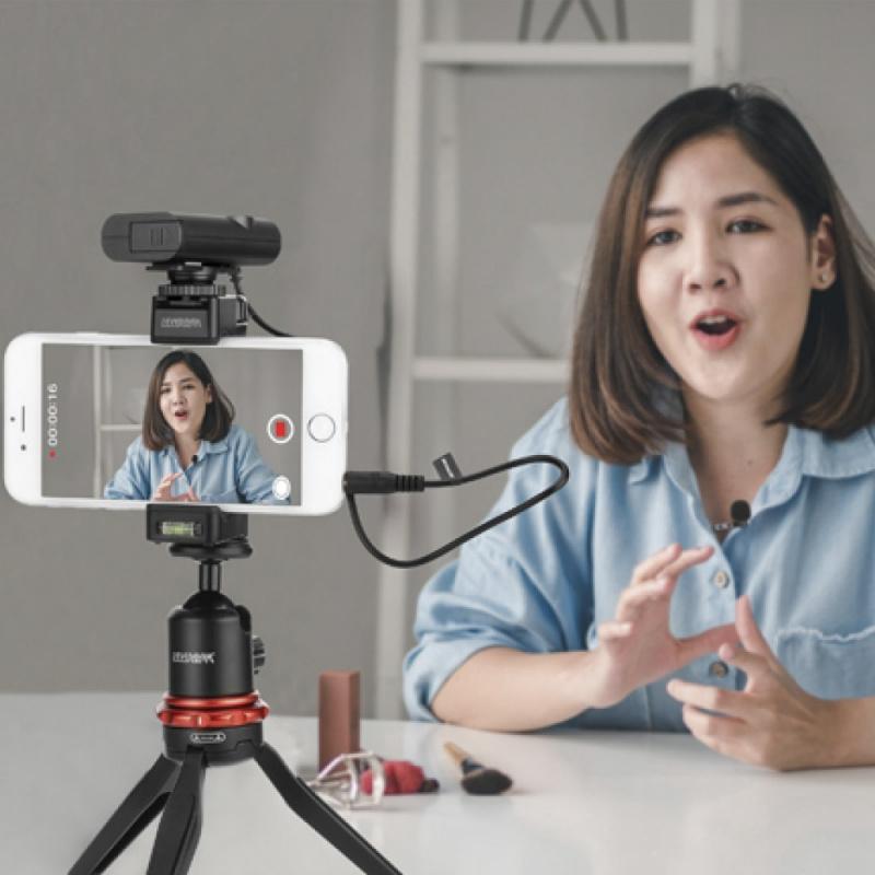BOYA BY-WM4 Pro K2 Wireless Microphone 一開二無綫收音咪【行貨保養】