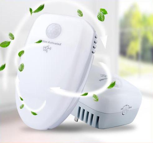 UVC 插牆式 空氣殺菌機 連感應夜燈 即插即用 Ai202