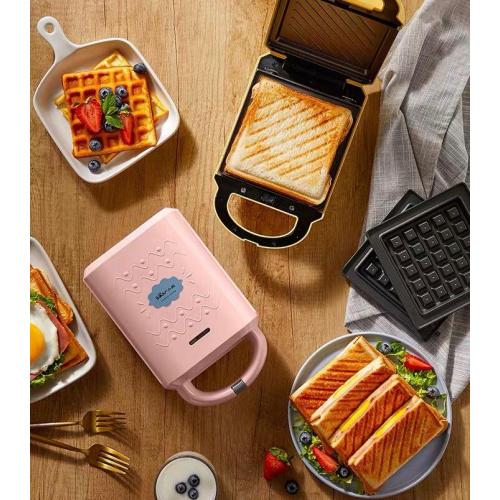 小熊 三明治機華夫餅機多功能吐司壓烤麵包機 [3款]