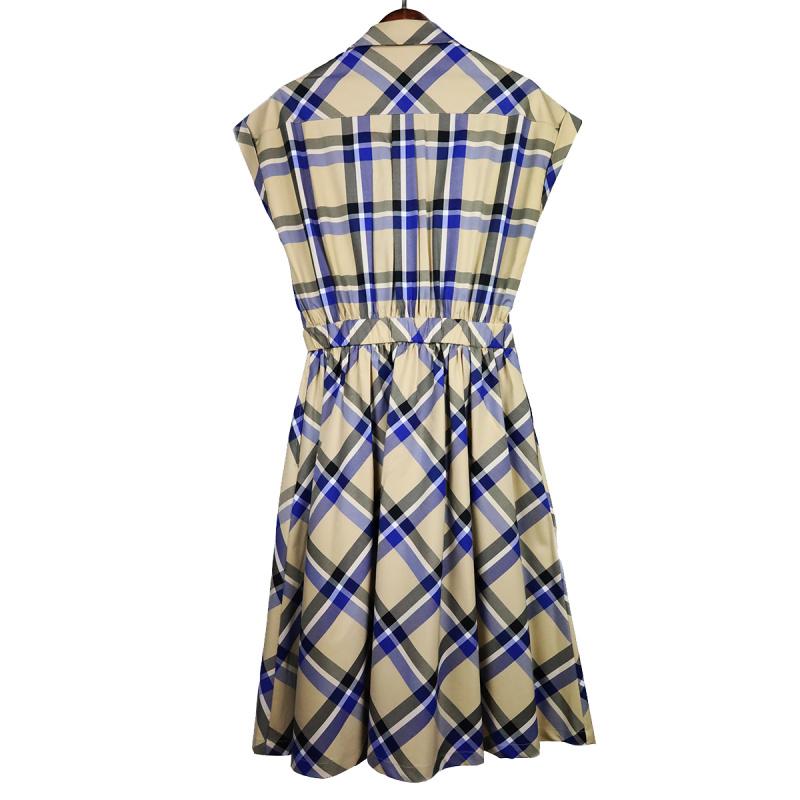 Hong Kong Blouse - 格仔連身裙