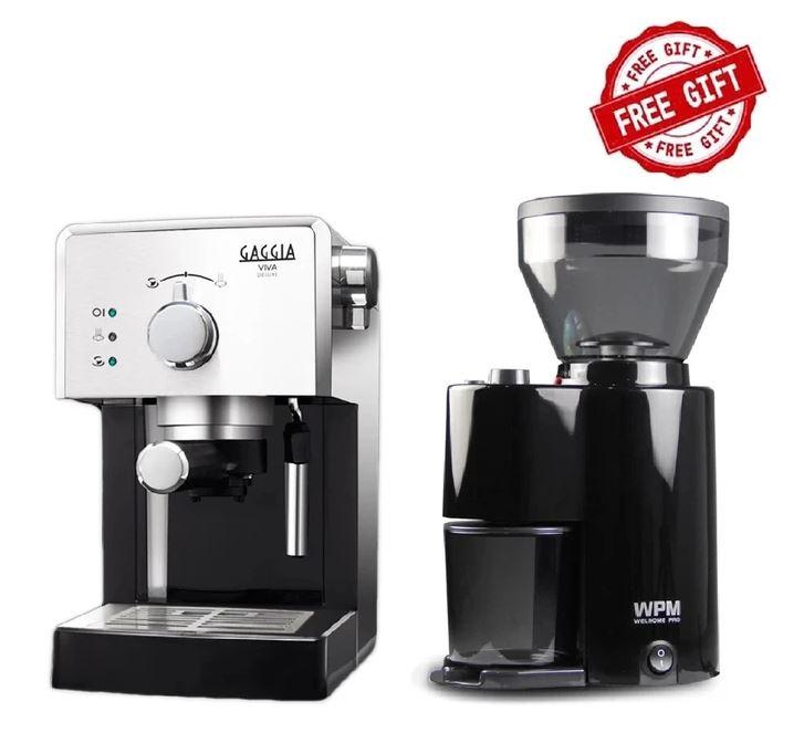 Gaggia VIVA DELUXE 咖啡機 (送WPM 研磨器)
