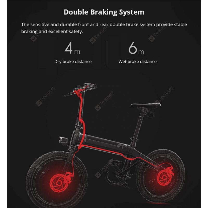 小米有品 HIMO電動助力自行車C20
