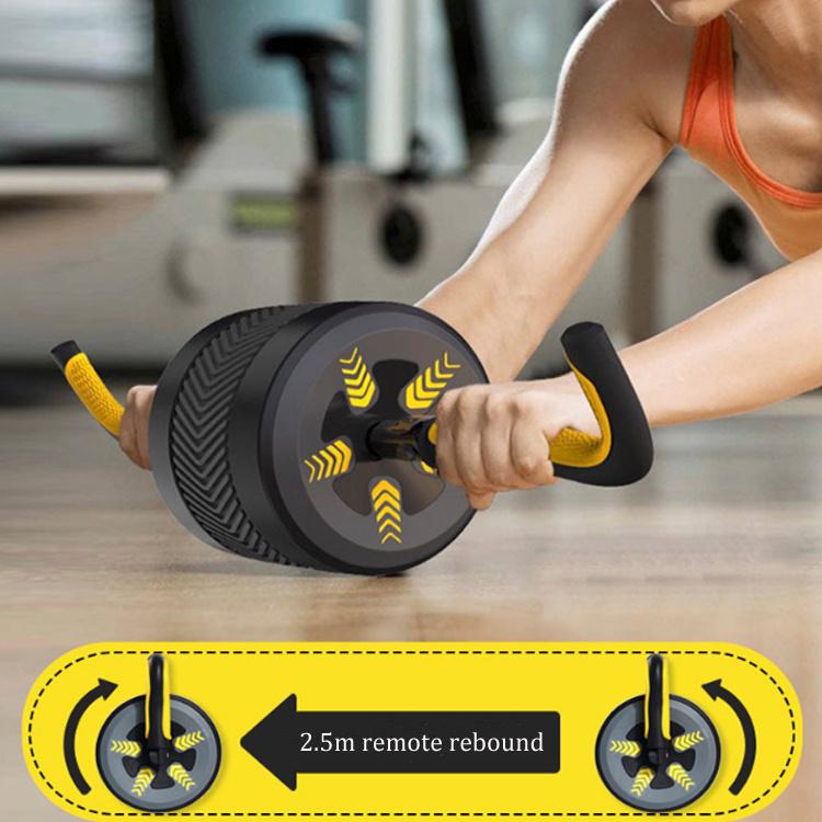 2 In 1 Ab Roller Kettlebell 健身輪