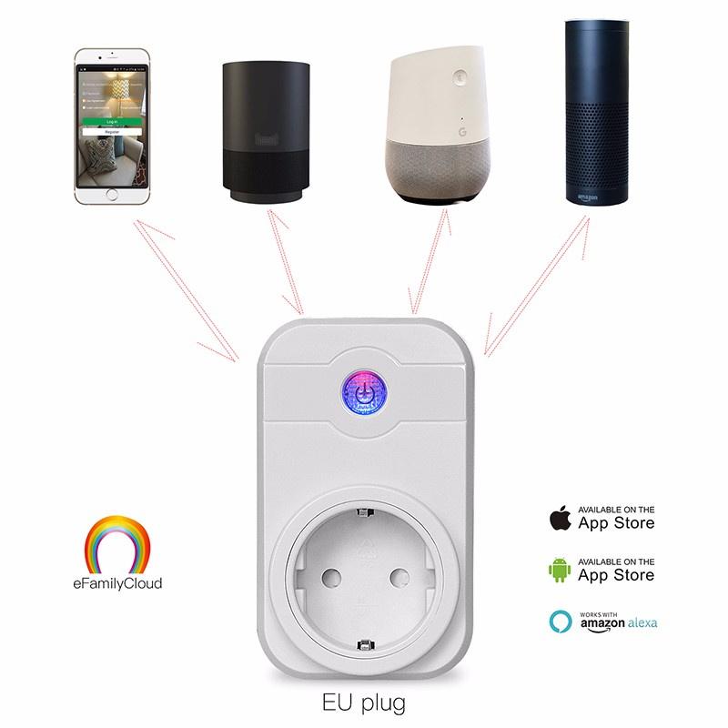 Zigbee智能家居自動化電源智能插頭插座