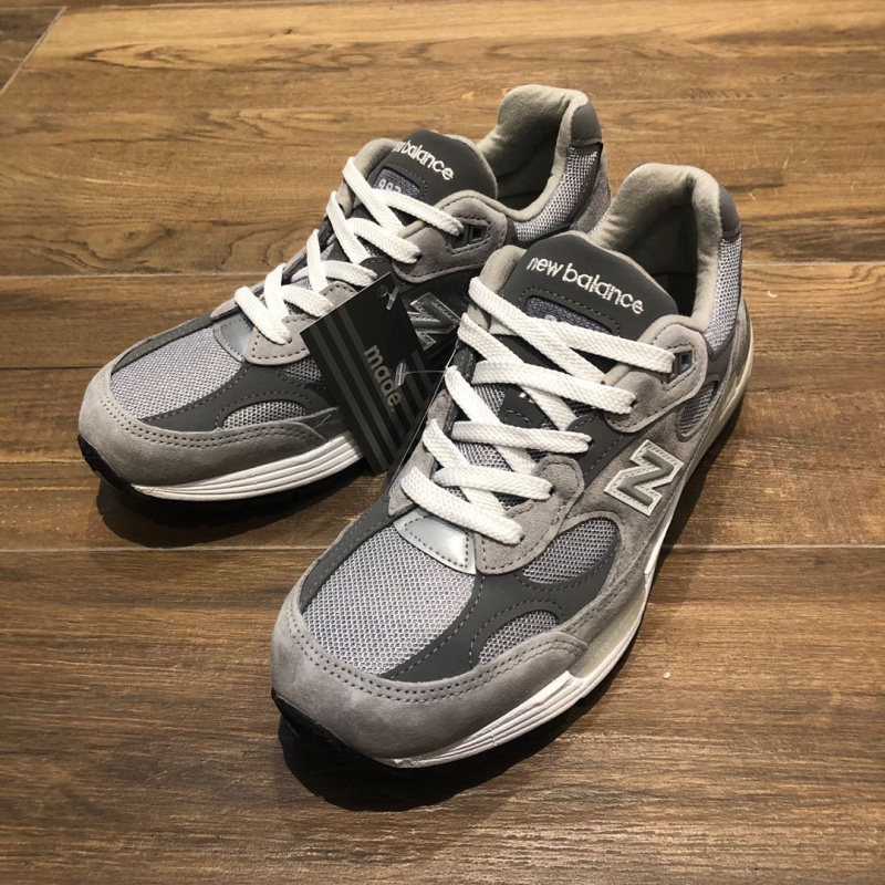 New Balance M992GR 992GR Grey Made in USA [灰色男裝鞋]