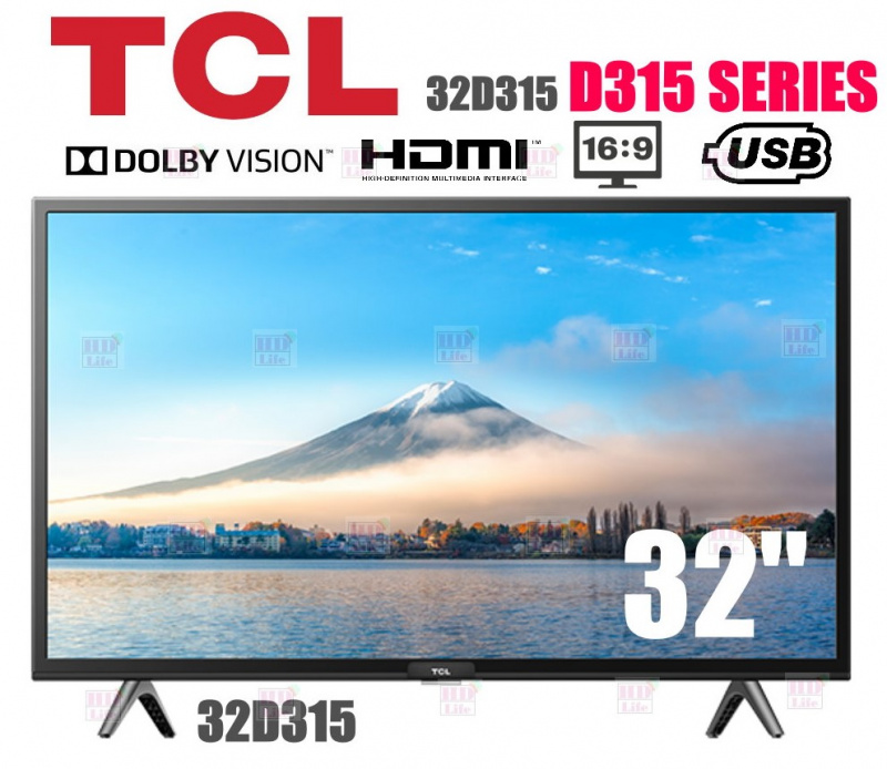 "TCL 32D315  D315 系列 智能電視32"""