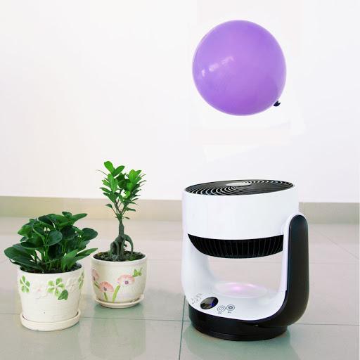 台灣Kolin歌林七彩夜燈空氣循環扇家用節能遙控電風扇可預約定時