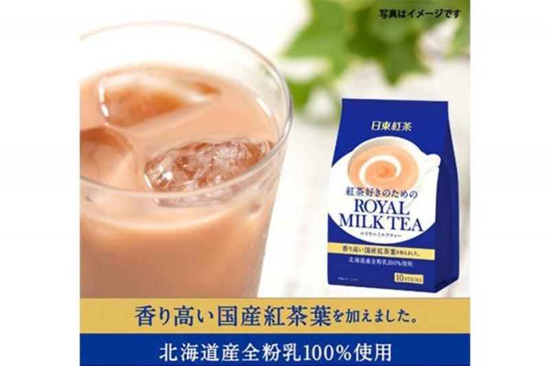 日版日東紅茶皇家奶茶 10包裝【市集世界 - MOAN】