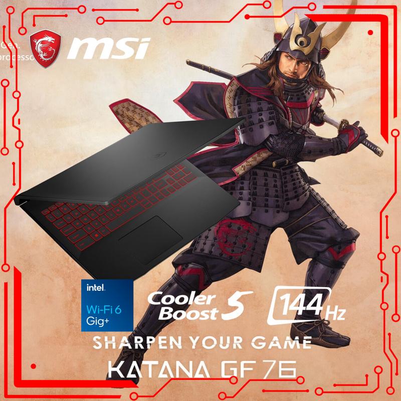 "MSI GF76 Katana 11UE 17.3""龍魂武士電競筆電11th ( i7-11800H / RTX3060 / 144Hz )"