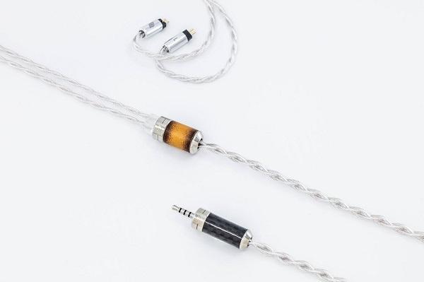 Effect Audio Leonidas II 4芯鍍鈀純銀線芯線材