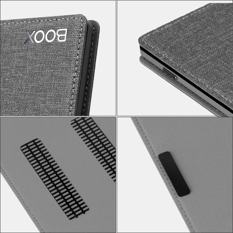 BOOX Poke3/Poke2 超薄智能保護套 灰色