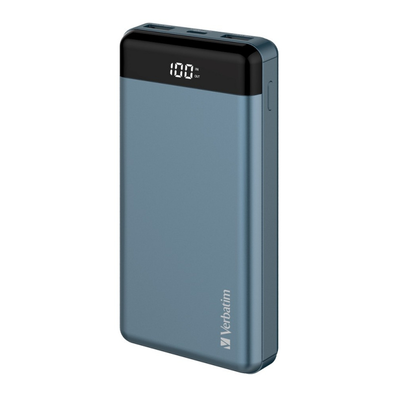 Verbatim 20000mAh 66W PD & QC3.0 Power Pack[66386/66387][2色]