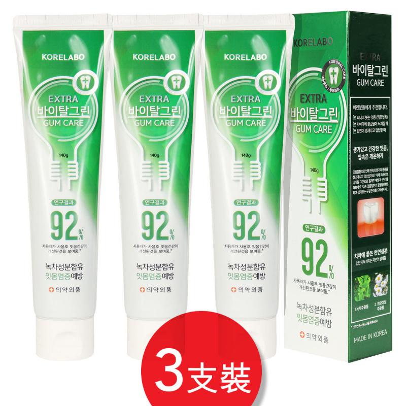 Korelabo 全效護齦潔齒牙膏 (3支裝)