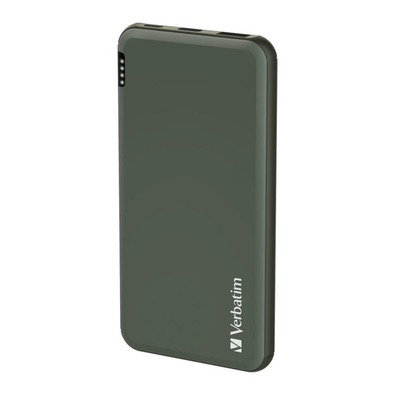 Verbatim 10000mAh QC 3.0 + PD 18W 外置充電器[3色]