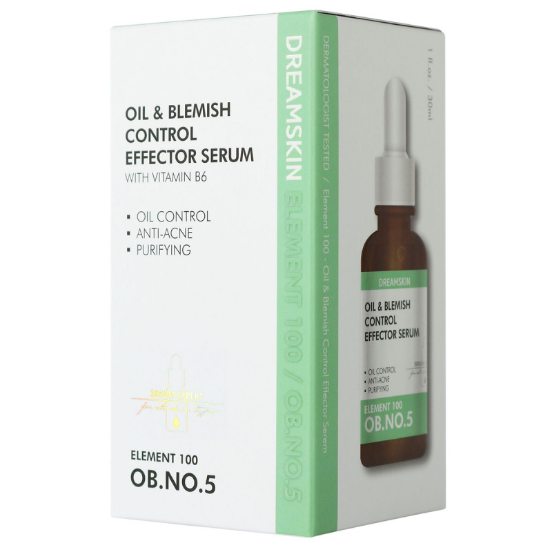(買1送1) Dream Skin Element 100 控油淨痘精華液
