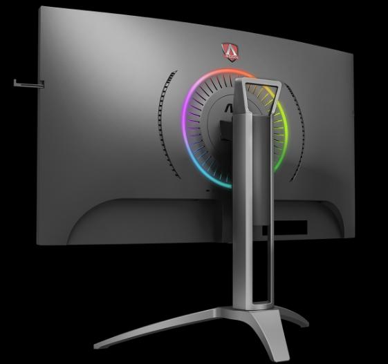 AOC 31.5吋 AGON 曲面電競顯示器 AG323QCXE