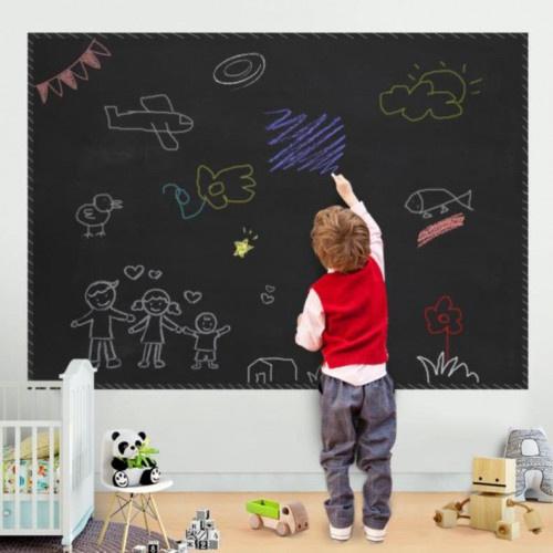 可寫黑板牆紙貼