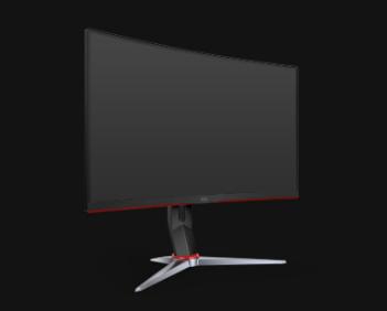AOC 27吋2K曲面電競顯示器 CQ27G2