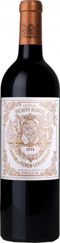 Chateau Pichon Longueville Baron Pauillac 2014 750ml - 12592381