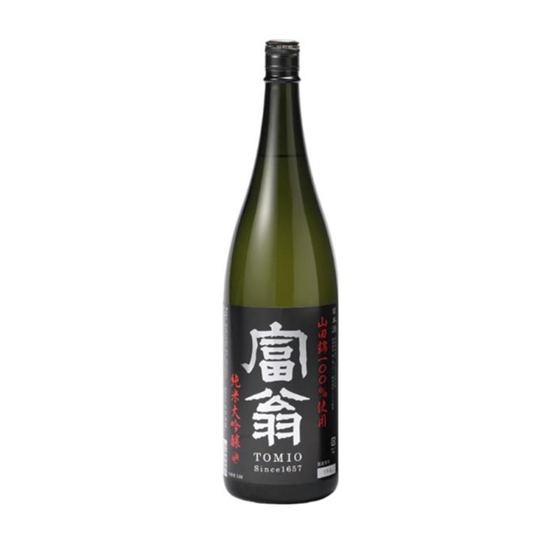 富翁純米大吟醸山田錦49清酒 Tomio Yamadanishiki 49 Junmai Daiginjo Sake 49 Sake 1800ml - 11082350