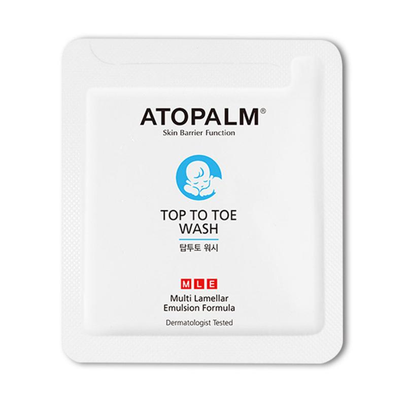 ATOPALM 嬰幼兒洗髮沐浴露 - 3毫升 x 40件