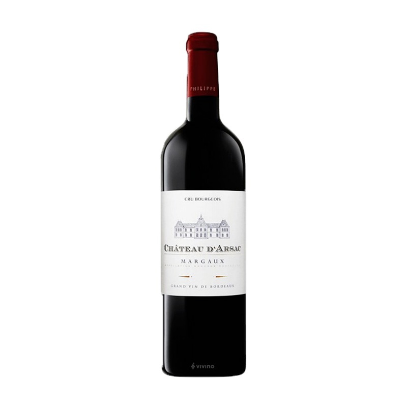 Chateau d'Arsac Margaux 2015 750ml 愛薩克法國紅酒 - 12621772