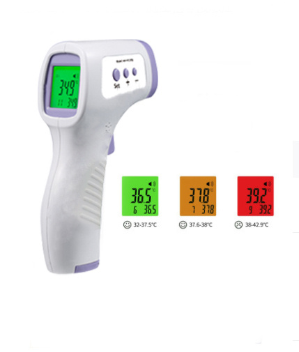 Infrared Non-contact Forehead Thermometer 紅外線電子體溫計 探熱器