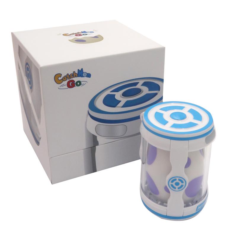 MEGACOM Pocket Catchmon Go 神奇寶貝自動抓寶神器 抓寶夢 Pokemon Go 遊戲Android iOS 平板 智能電話用 單機版 (白/藍色)