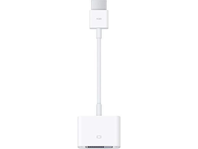 蘋果原裝HDMI轉DVI適配器