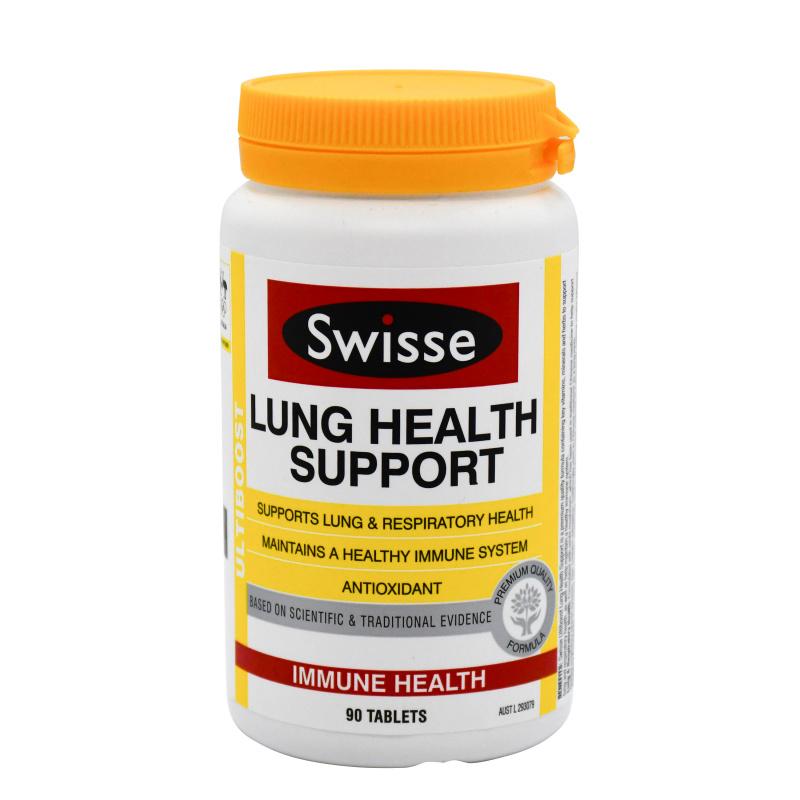 Swisse Lung Health Support 天然草本清肺片90粒