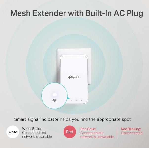 家居全方位智能網狀Mesh Wi-Fi系統 Tp link Deco M3 (3-Pack)