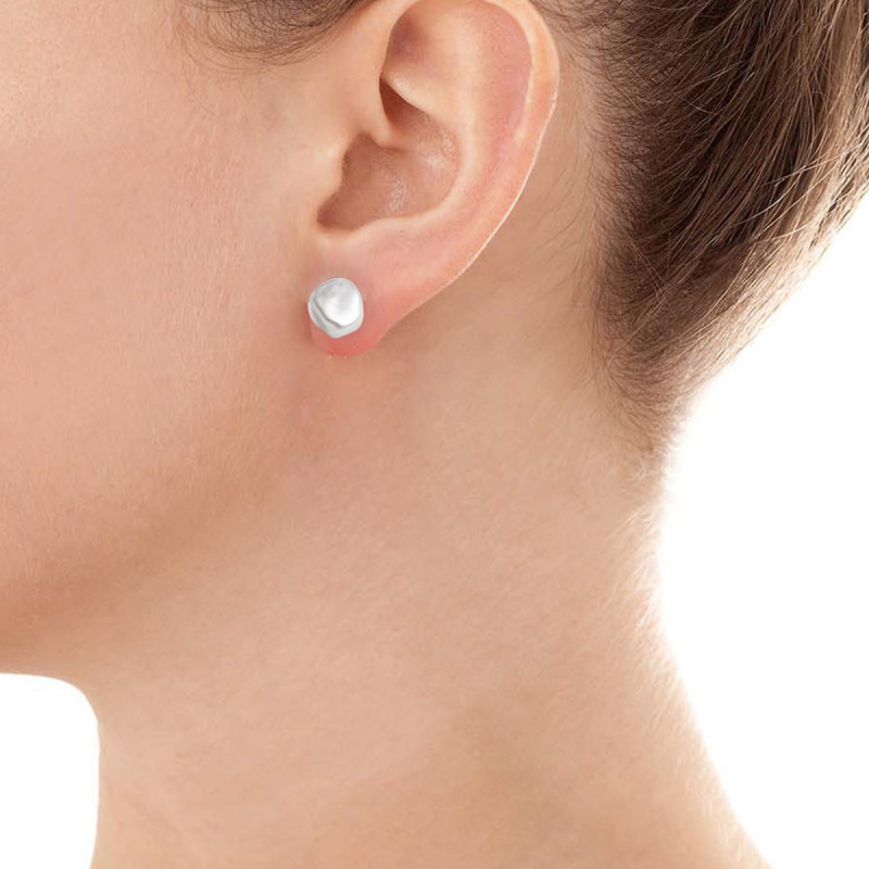 One & Ownly- Keshi pearl Earring 純銀淡水珍珠耳環