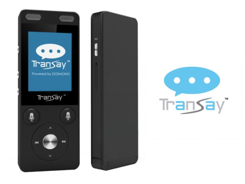 TranSay AI人工智能4G雙向即時翻譯機神器