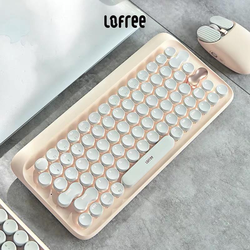 原裝正品 Lofree Special Edition 特別版 奶茶系列套裝