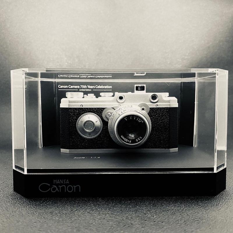 Hansa Canon 75週年紀念版限量模型
