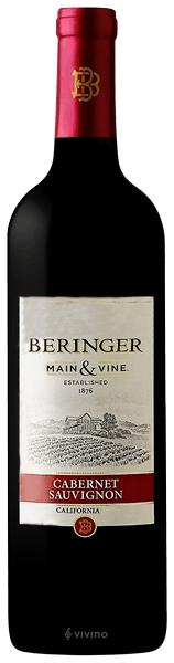 Beringer Main & Vine Cabernet Sauvignon 2018 Cork 750ml - 12032086