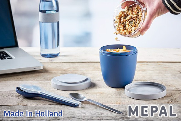 MEPAL|Ellipse不鏽鋼餐具套裝 (藍色/叉+匙+刀)|荷蘭製造
