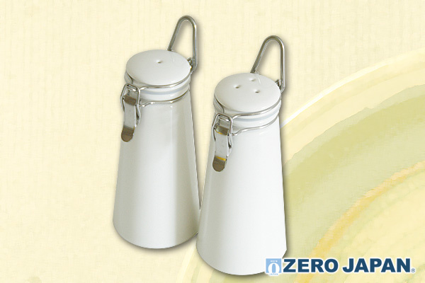 型格S&P調味瓶套裝 (白)|日本製造