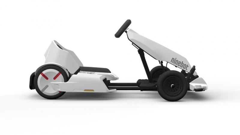小米 Ninebot mini PRO 九號 平衡車卡丁車套裝成人兒童電動體感車(包含白色miniPRO平衡車+卡丁車改裝套件)