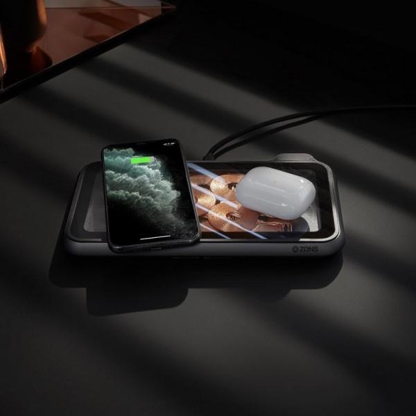 德國 Zens 無線充電 玻璃擺設